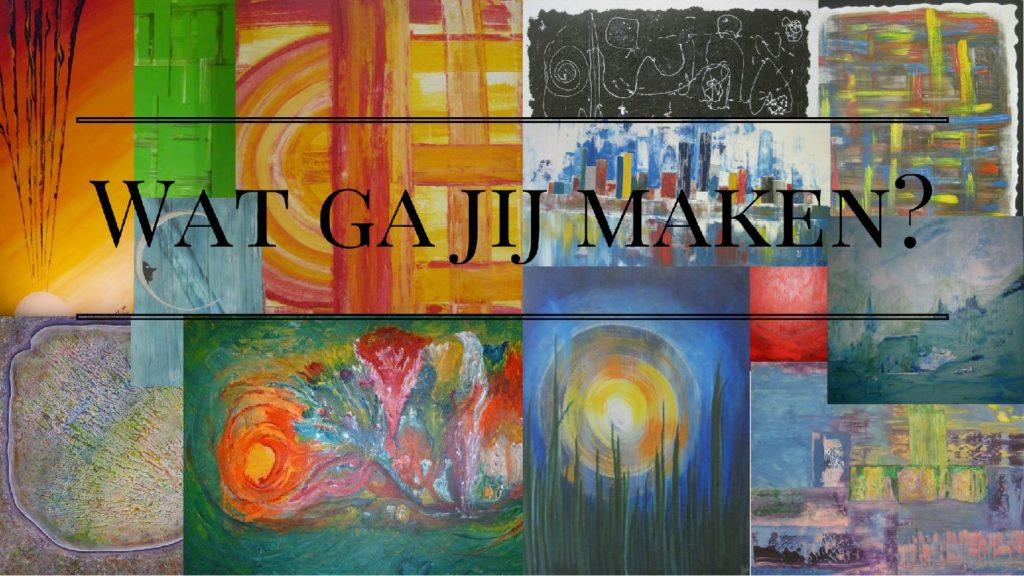 Atelier Kunstig Art schilderijen deelnemers