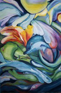 Atelier Kunstig Art schilderij Dicky