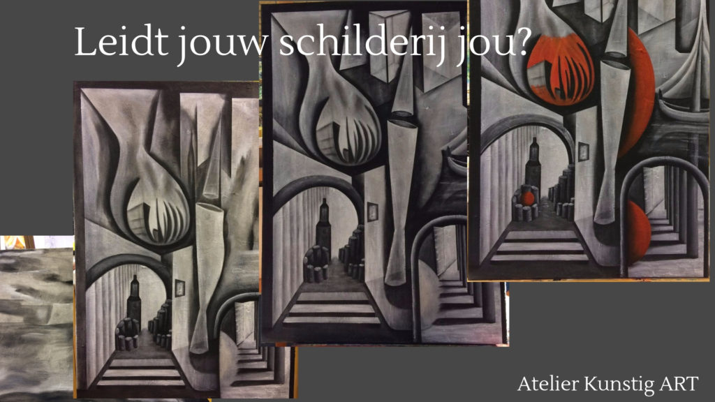 Atelier Kunstig Art leidt jouw schilderij jou?