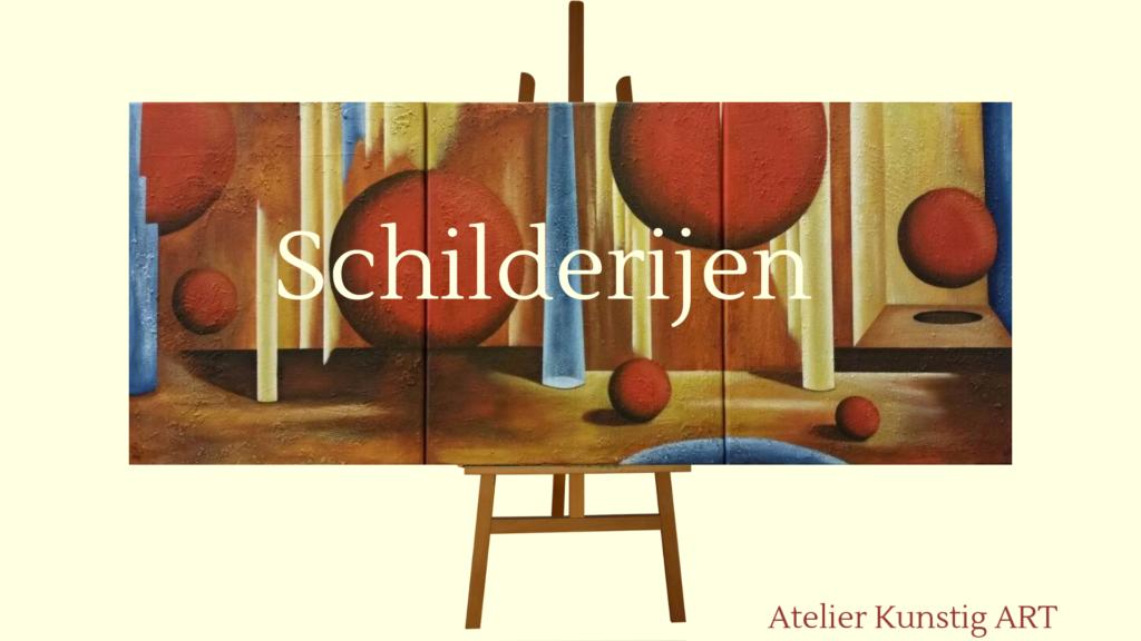 Atelier Kunstig Art schilderijen Sylvia te Braake
