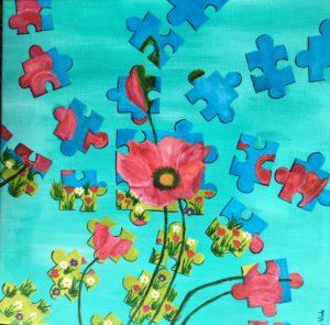 Atelier Kunstig Art schilderij Henny