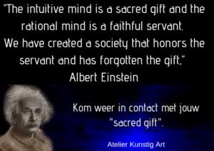 Intuïtie het heilige geschenk kunstigart.nl