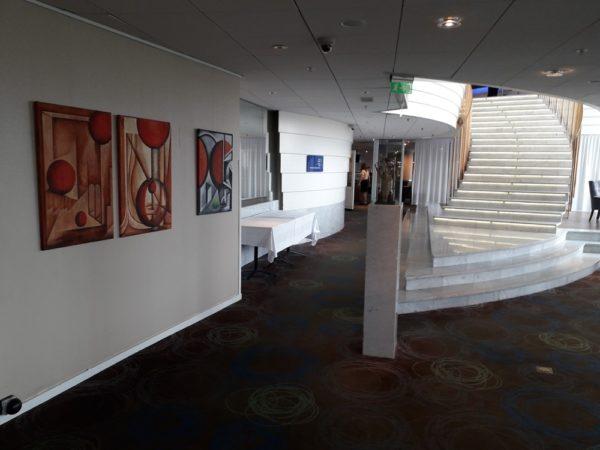 exhibition hotel Hilton Stockholm kunstigart.nl