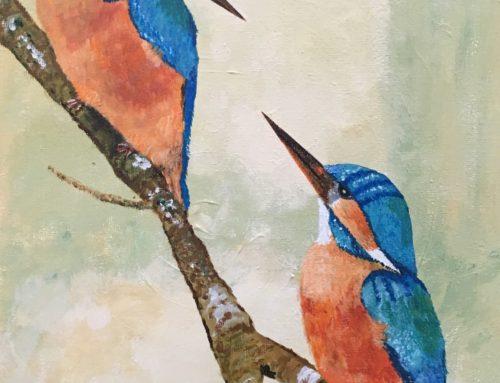 """""""IJsvogels"""" van Rita Vervoort"""