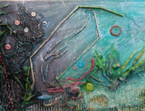 """""""Onderwaterlandschap"""" van Loes de Bruin-Kroon"""