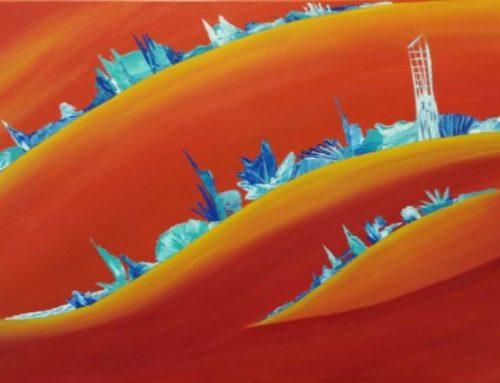 """New Horizons"" van Sylvia te Braake"