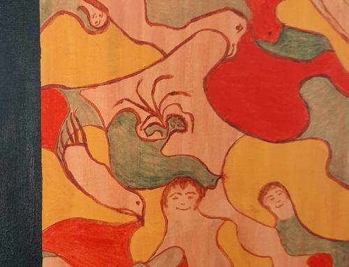 """""""Puzzel van vrolijkheid"""" van Jeanette van der Horst"""