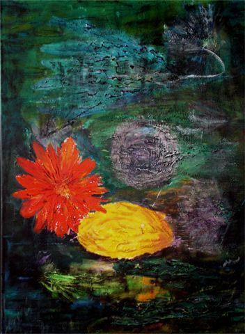 Bloem - kunstigart.nl - 80 x 60 cm