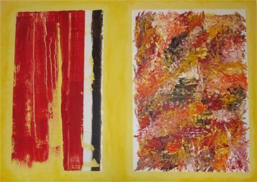 Compositie - kunstigart.nl - 60 x 80 cm
