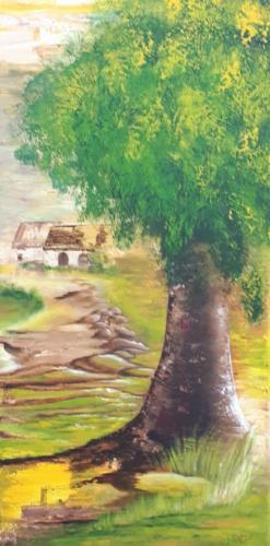 My secret garden - kunstigart.nl - 80 x 40 cm