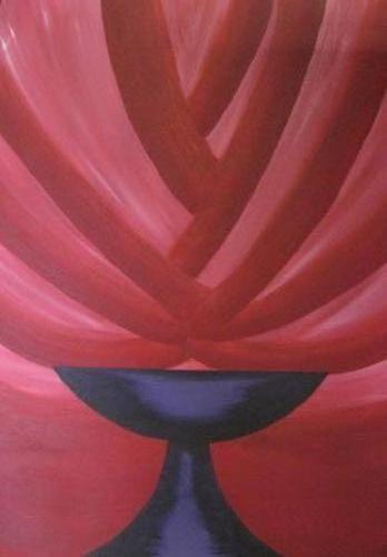 Overvloed - kunstigart.nl - 80 x 60 cm