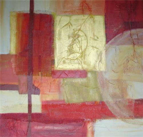 Verrassing - kunstigart.nl - 80 x 80 cm