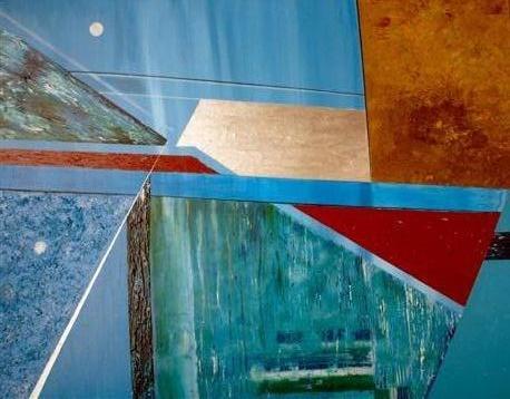 Water - kunstigart.nl - 100 x 70 cm