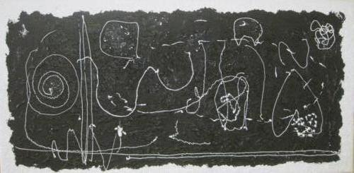 Zwart op wit - kunstigart.nl - 60 x 120 cm